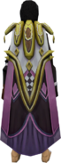 Twisted Jester Cape equipped