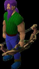Arco-escudo ancião equipado