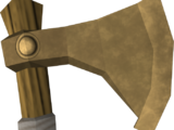 Bronze throwing axe