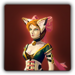 Feline outfit icon (female)