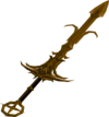 Golden Saradomin godsword (passive) detail