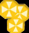 Lemon slices detail
