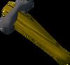Oak blackjack (d) detail
