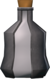 Ogre flask (empty) detail