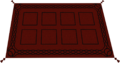 Opulent rug built
