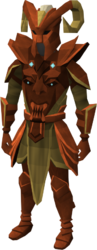 Primal armour equipped
