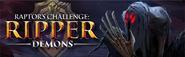 Raptor's Challenge Ripper Demons lobby banner