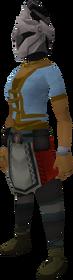 Rune heraldic helm (Skull) equipped