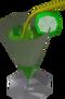 Short Green Guy detail