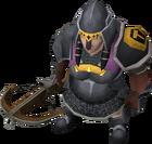 Black Guard crossbowdwarf female