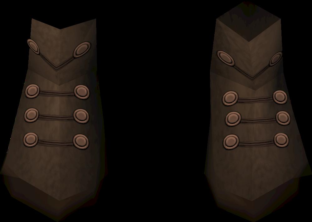 Diviner's footwear detail