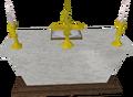 Marble altar built