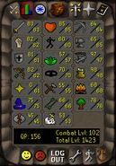 Old toolbar