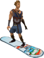 Snowboard (penguin) equipped.png