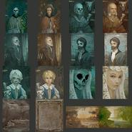 Broken home paintings