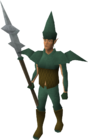 Elven city guard old