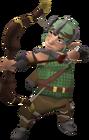 Gnome attacking