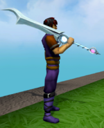 Purified Greatsword equipped