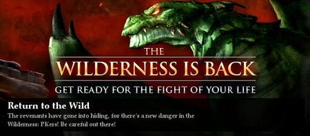 Return of Wildy Banner