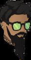 Sunglasses (green) chathead.png