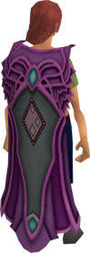 Clan Trahaearn cape equipped