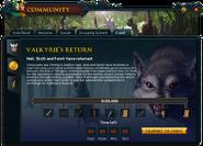 Community (Valkyrie's Return) interface 1a