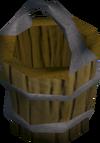 Empty bucket detail