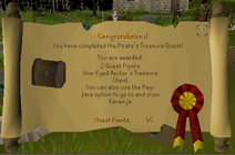 Pirates Treasure Reward