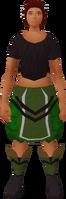 Retro herbalist apron