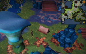 Scan clue Heart of Gielinor west of slope to Helwyr area
