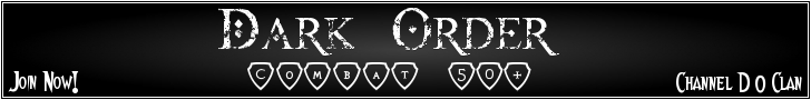 Dark Order Banner