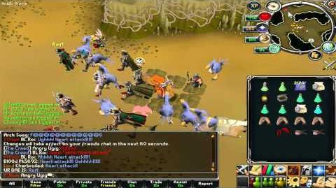 Bloodlines Giant Mole event - Crashing the crashers