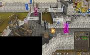 Glitch at Knight Mare Castle Wars event