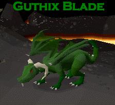Guthix Blade Logo