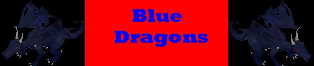 Blue Dragons Logo