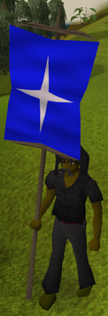 Saradomin-heraldic-banner-equipped