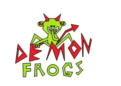Demon Frogs Logo