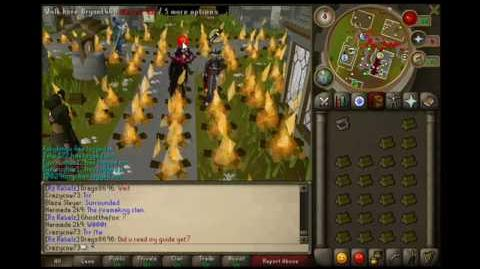 The Runescape Rebels Burn down Runescape!
