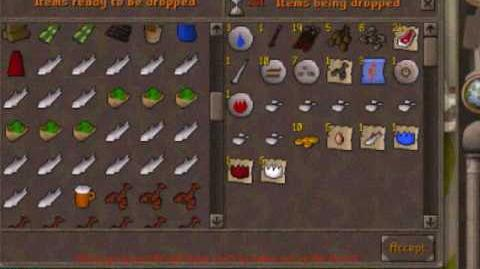 Runescape 1900M and 1000M drop party