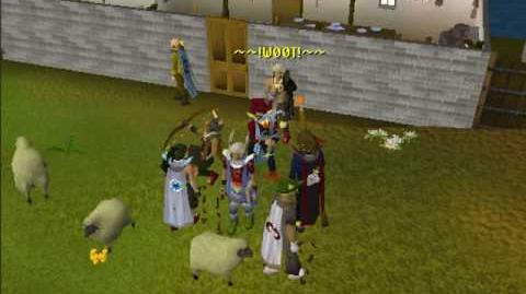 Runescape 99 Fishing Party Drop Party!