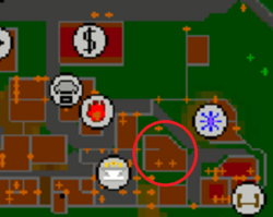 Dancing Donkey Inn map