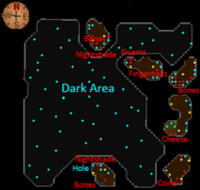 Skavid caves map