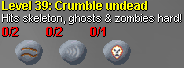 Crumble undead