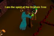 Dramen tree spirit