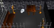 Restless ghost skull