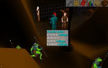 Underground railings jail