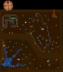 Legends cavern map Lower