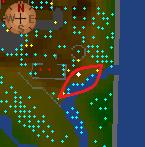 Panning spots map