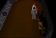 Yanille agility dungeon Iron Rocks