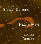 Demonic ruins map